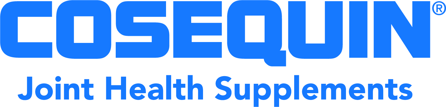 Cosequin Logo with Joint Health Supplements Tagline (Blue)